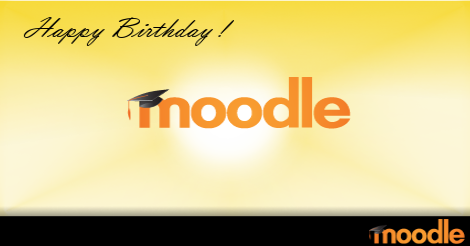 Happy Birthday Moodle!